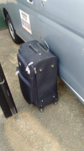 カット+顔そり道具入りスーツケース