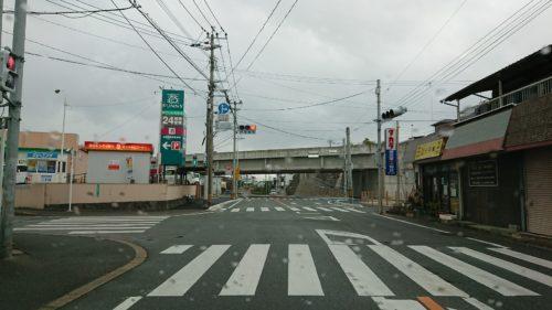 オークタウン入口交差点