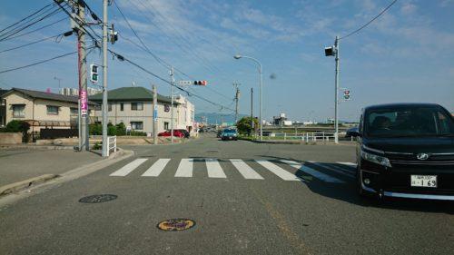 松崎橋交差点